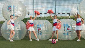 buborékfoci pompom táncos lány lányok