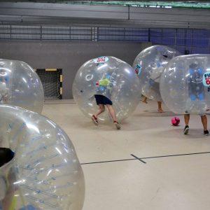 buborékfoci csapatépítő céges rendezvény