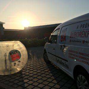 Futballon Buborékfoci buborék szállító
